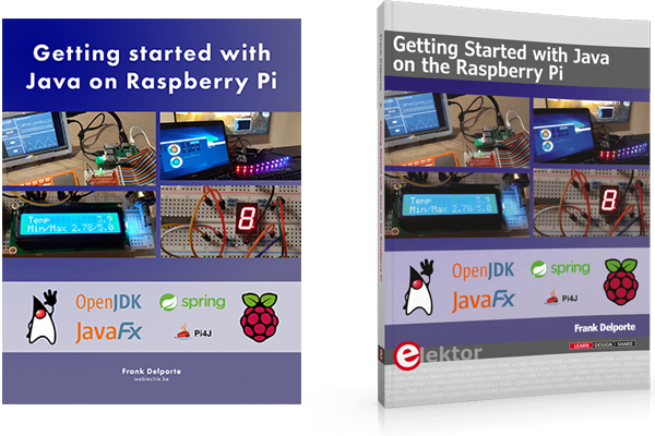 "Cover of ebook and paper book ""Getting Started with Java on the Raspberry Pi"""